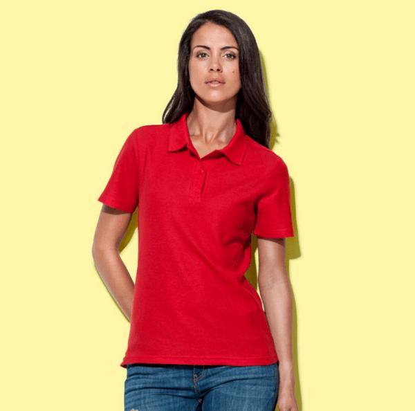 Дамска поло блуза (с яка)