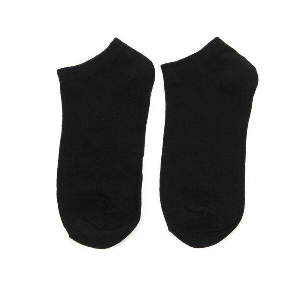 Дамски спортни чорапи тип терлик Black