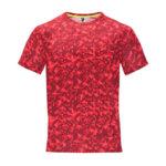 Мъжка тениска за спорт - червен