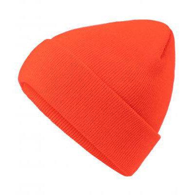 Унисекс шапка неоново оранж
