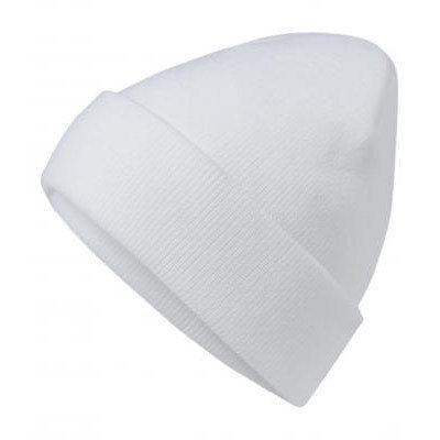 Унисекс шапка бял