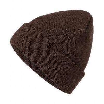 Унисекс шапка шоколад