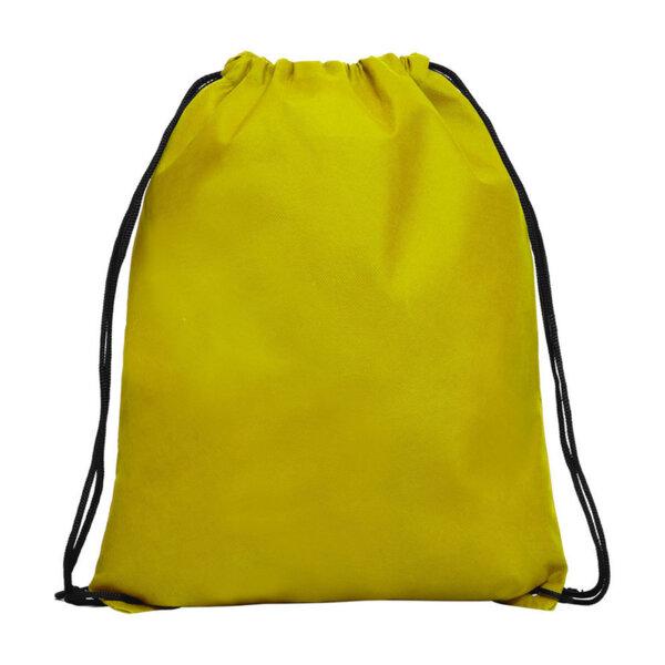 Спортна раница в жълто
