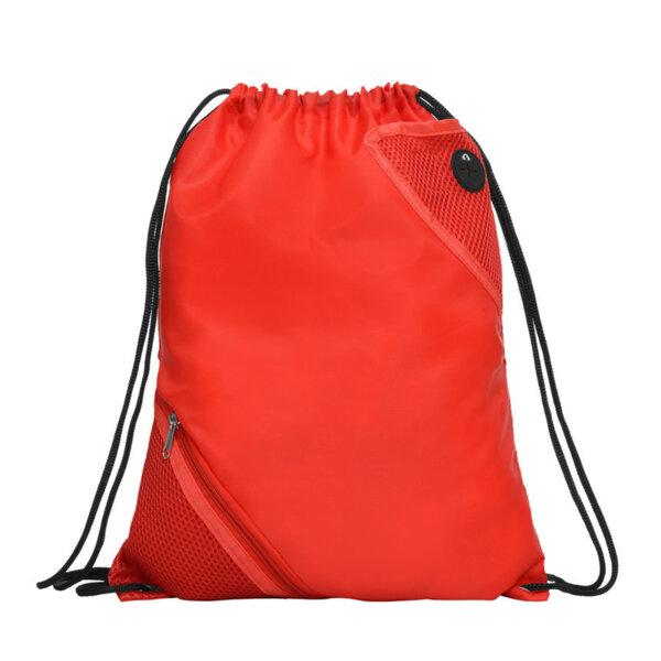 Спортна раница с два джоба - червен