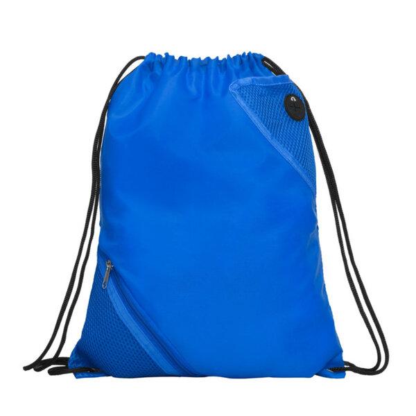Спортна раница с два джоба - кралско синьо