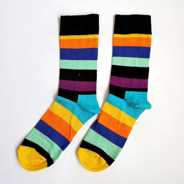 Дамски шарени чорапи PRIDE