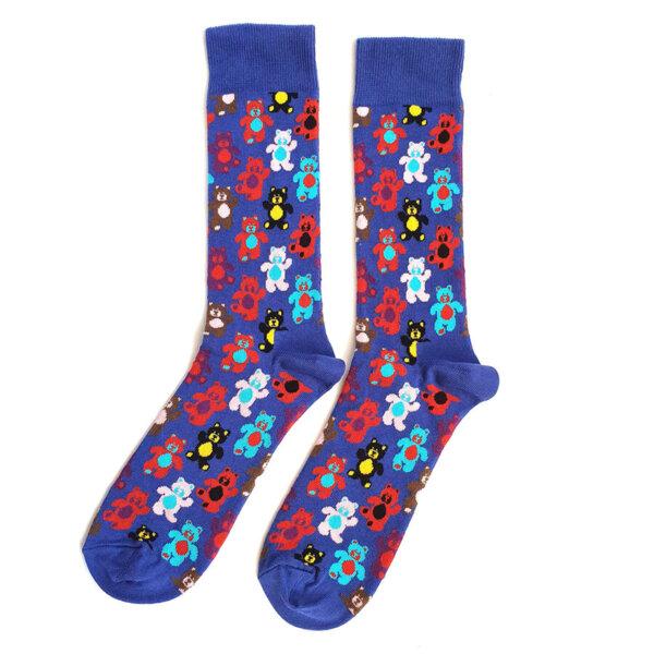 Мъжки шарени чорапи с мечета