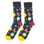 Мъжки шарени чорапи с балони