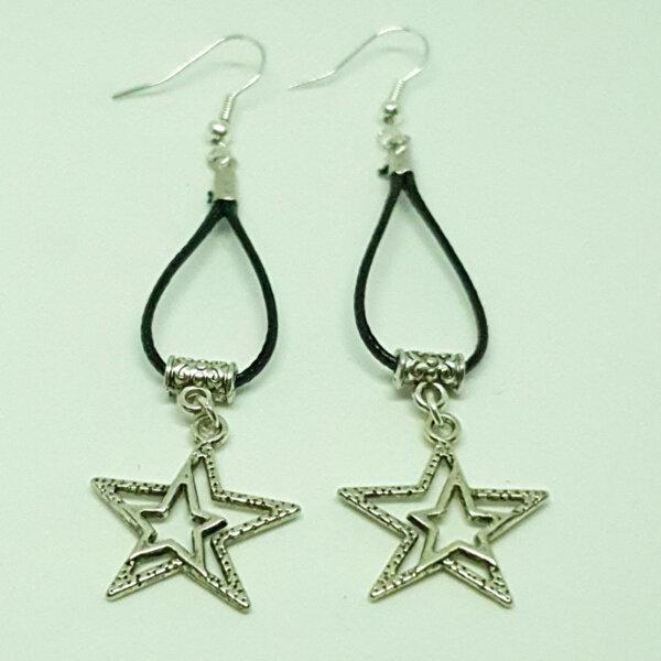 Дамски обеци Stars