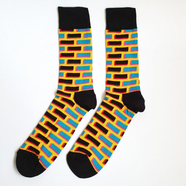 Мъжки чорапи Yellow brick