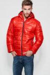 Мъжко зимно яке - червено