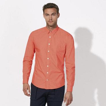 Кежуал мъжка риза - сьомга