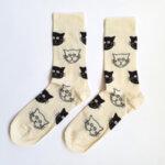 Дамски чорапи с котета