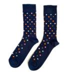 Мъжки шарени чорапи на точки