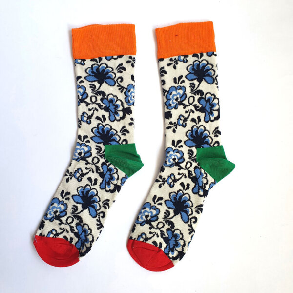 Дамски чорапи на цветя