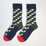 Дамски асиметрични чорапи