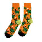 Дамски шарени чорапи с БИВОЛ