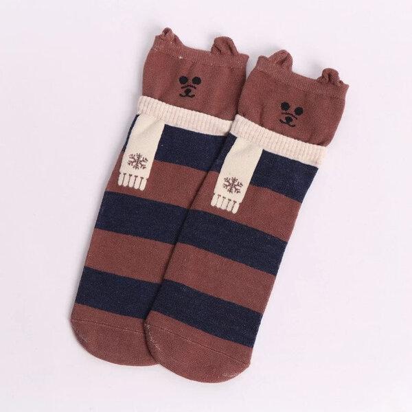Дамски чорапи с ушички