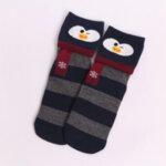 Дамски чорапи с животни тъмносин