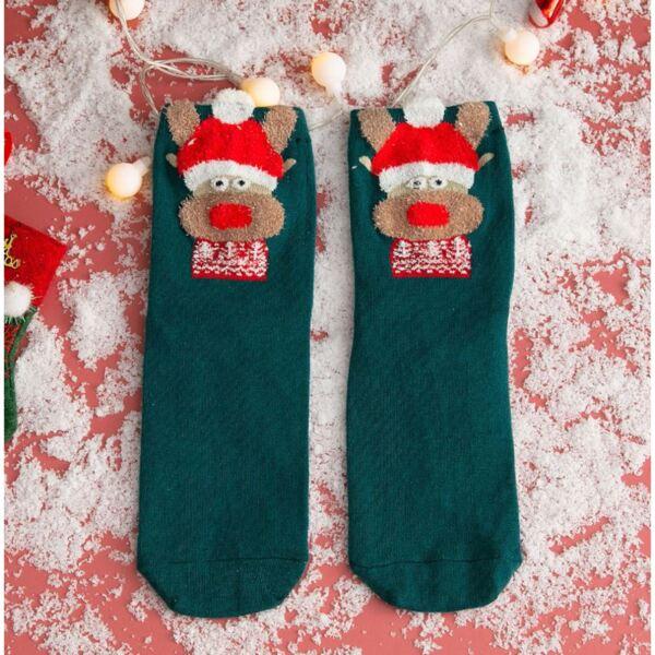 Дамски коледни чорапи с еленче