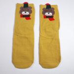 Дамски чорапи Мечо горчица
