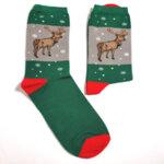 Дамски коледни чорапи - комплект от 2 броя
