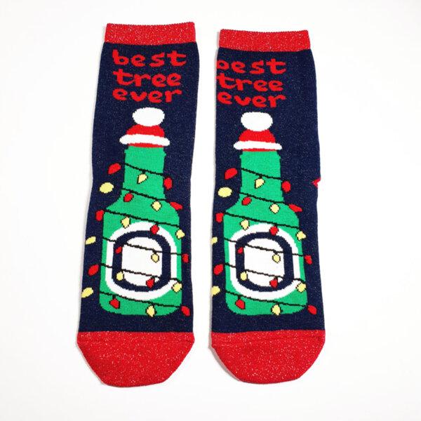 Дамски коледни чорапи Best tree ever
