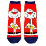 Дамски коледни чорапи Дядо Коледа