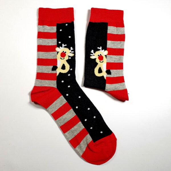 Мъжки коледни чорапи с Еленко