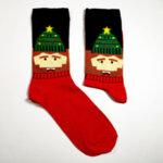 Мъжки коледни чорапи с Дядо Коледа