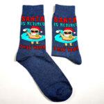 Коледни мъжки чорапи Santa is retired