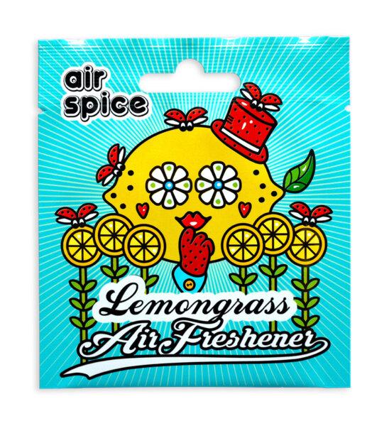 Хартиен ароматизатор - Лимонена трева