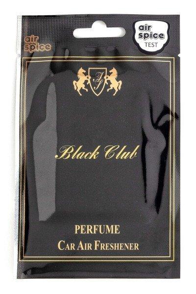 Хартиен парфюмен ароматизатор - Black