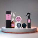 Pink Club 3 в 1 - Дифузер, Спрей и Арома Топка (аромат на мандарина, ванилия, сандалово дърво)