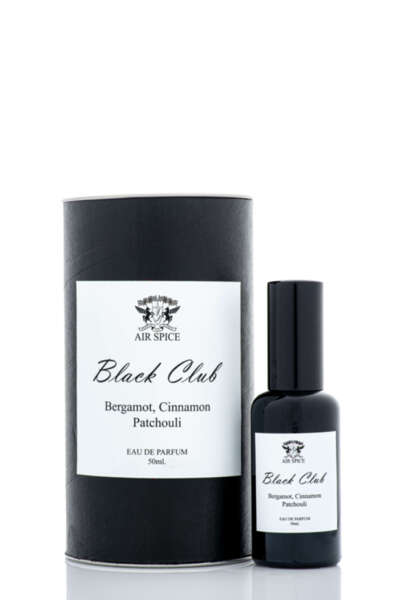 Black Club Парфюм с аромат на бергамот, канела и пачули