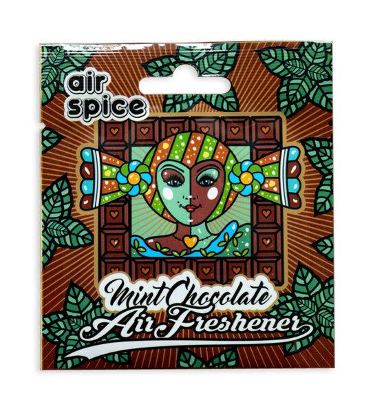 Хартиен ароматизатор - Мента и Шоколад