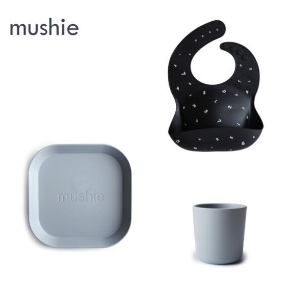 """Комплект за хранене Mushie """"Cloudy"""""""