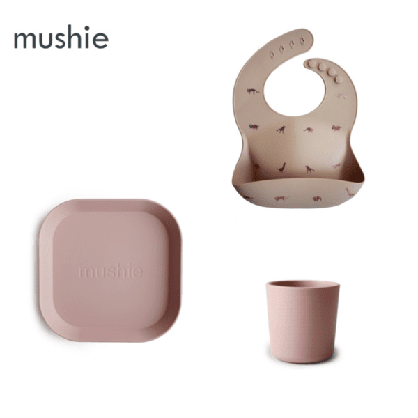 """Комплект за хранене Mushie """"Safari"""""""
