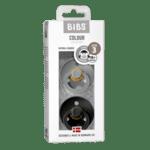 Залъгалки Bibs-2 бр.- черен/светлосив-18+ месеца