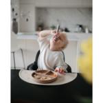 Mushie Силиконови лъжици за хранене, комплект 2бр - розови