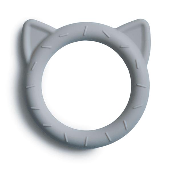 Mushie гризалка - синя с ушички