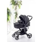 Бебешка количка Bubu 2в1 - черна