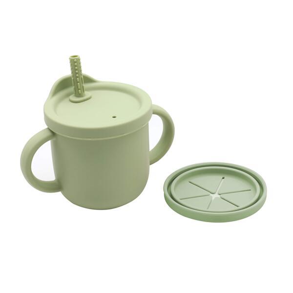 Snack cup 2в1 чаша, зелена