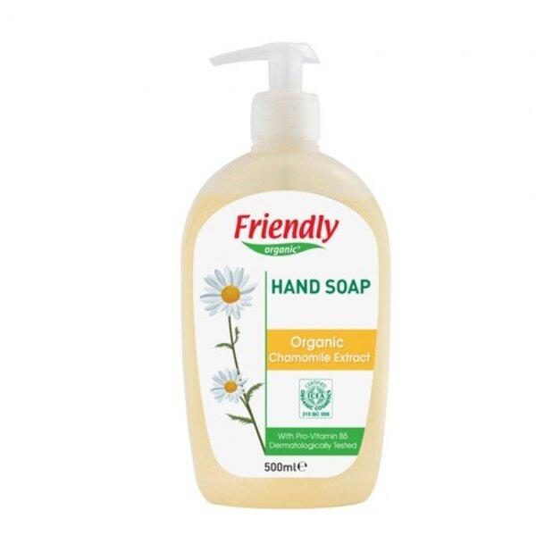 FRIENDLY ORGANIC Натурален сапун за ръце с екстракт от лайка 500мл