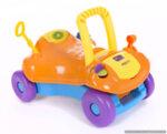 Количка за яздене Baby walker 2 in 1 Orange