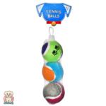 Комплект от три тенис топки за куче Smart Choice