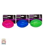 Екстра здрава свиреща гумена топка за куче 10см Smart Choice