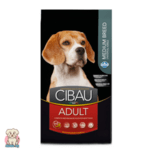 Cibau Adult Medium с Пилешко за кучета от средни породи и възраст над 12 месеца 12кг