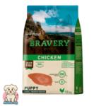 Bravery Puppy Grainfree с Пиле за подрастващи кучета от средни и големи породи 12кг