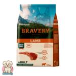 Bravery Adult Grainfree с Агне за порастнали кучета от средни и големи породи 12кг